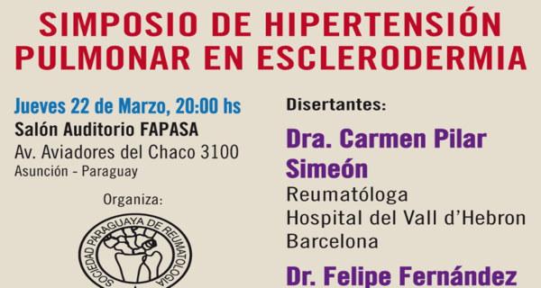 Simposio de Hipertensión Pulmonar en Esclerodermia