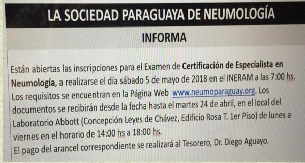 Informe Certificación: