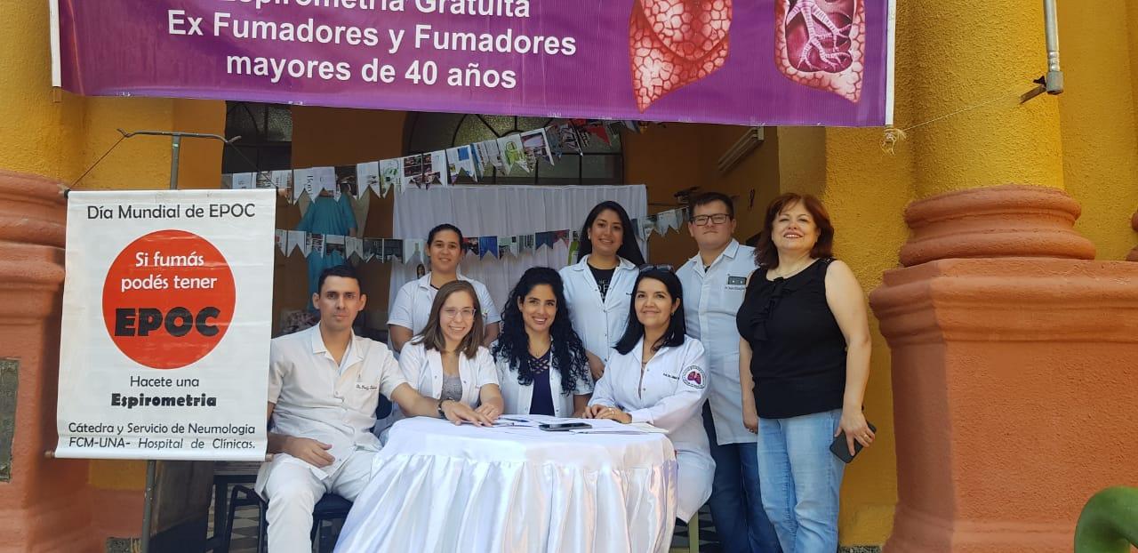 Actividades por la Semana de la Enfermedad Pulmonar Obstructiva Crónica EPOC